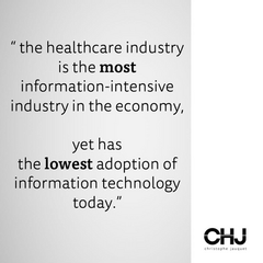 The most information-intensive industry