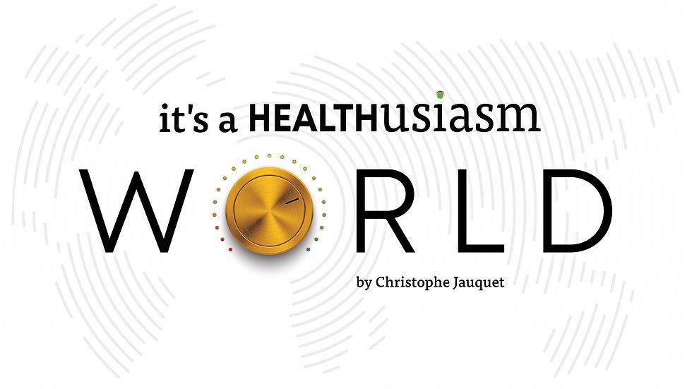 Healthusiasm World - 16-9 slide - white