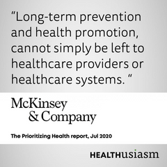 Health is not up to healthcare providers
