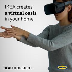 IKEA creates a virtual retreat in your home