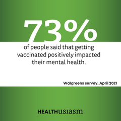 Vaccination impact mental health