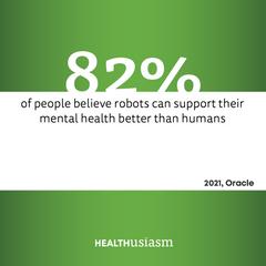 Robotic mental health support