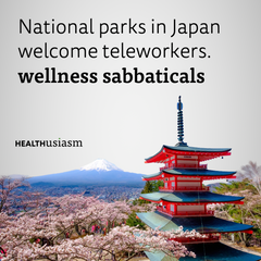 Japan opens up National parks for telework