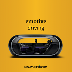 Emotive-driven mood boosting car