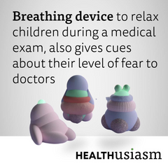 Breathing toy for kids (and doctor)
