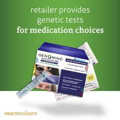 Pharmacogenetics sold in a retailer