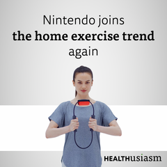 Nintendo joins the home exercise trend again