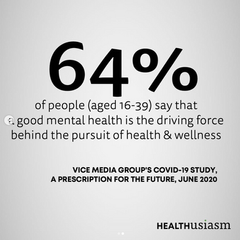 Mental health is the driving force of our health