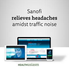 Sanofi relieves headaches in traffic jams