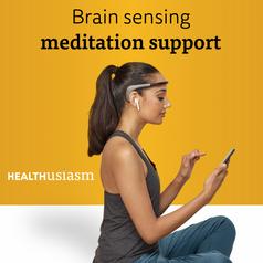 Brain sensing meditation