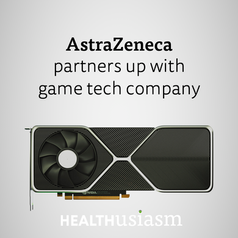 Pharma partners with game tech company