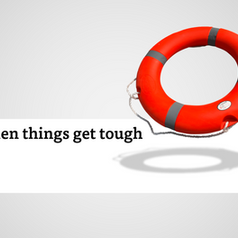 When things get tough...