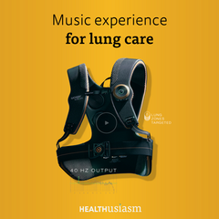 Music for lung care