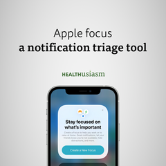 A notification triage tool