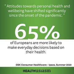 Healthusiasm grew since covid