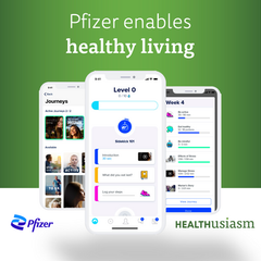 Pfizer enables healthy living