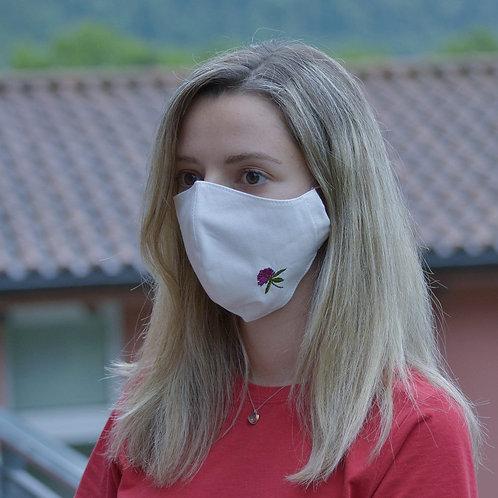 Trifolium pratense Face Mask