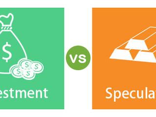 Investing vs Speculation