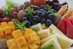 Tropical and seasonal fruit platter