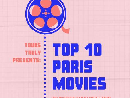 Top 10 Paris films to snuggle too