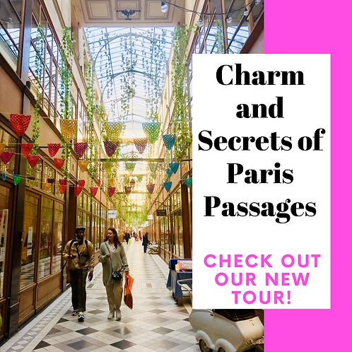 Charm and Secrets of Paris Passages