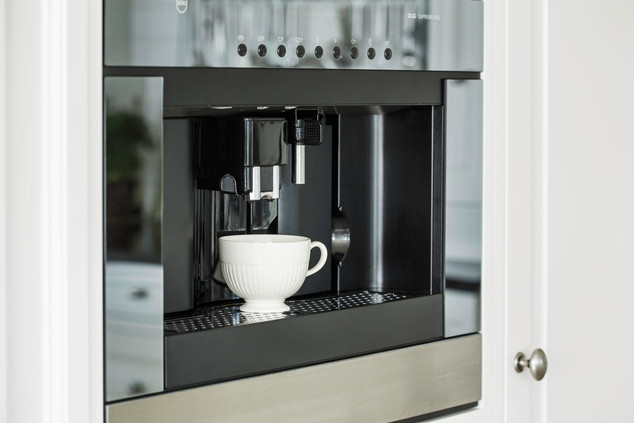 Integrert kaffemaskin fra den sveitsiske kvalitetsleverandøren V-zug