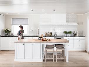 Nytt kjøkken med inspirasjon til trivsel og hygge