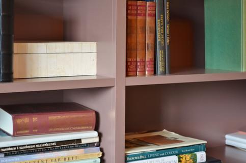 Sømløse overganger i denne bokhylla