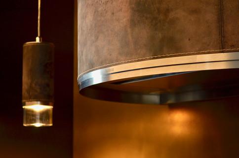 Kjøkkenhette og lamper fra nederlandske Wave Kitchen Products
