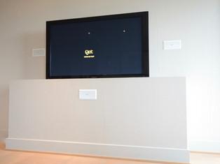 TV kamuflert mot vegg