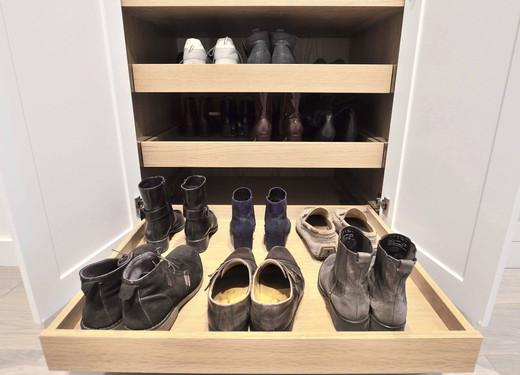 Dype uttrekk til sko og støvler
