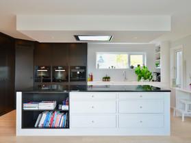 Et kjøkken med kontraster