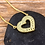 Thumbnail: Rainbow Heart CZ Necklace