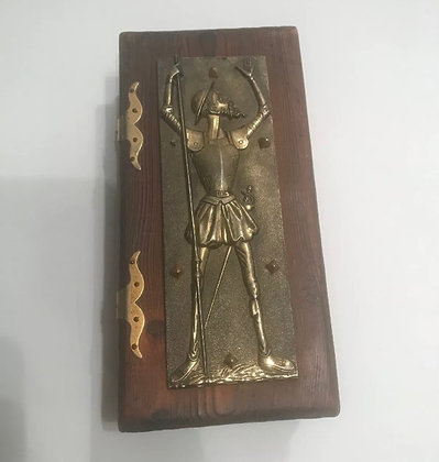 Don Quixote wooden box 1900