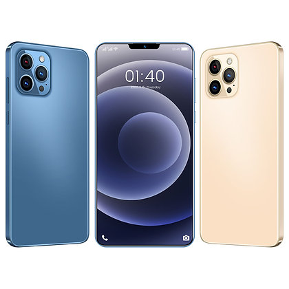 i12 Pro Max + 6.7 inch 12GB + 512GB Android smartphone 10 core 5G LET