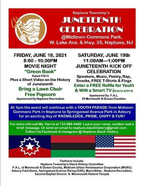 Juneteenth Kick Off Event Flyer 6.19.21R