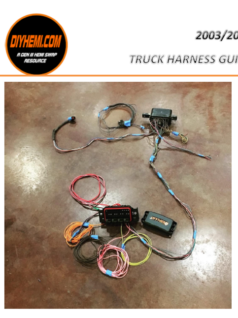 2003-2004 Dodge Truck Hemi Harness Manual