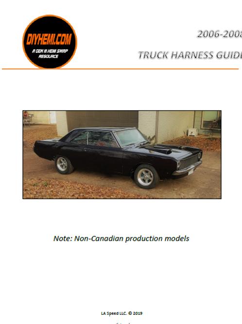2006-2008 Dodge Truck Hemi Harness Manual
