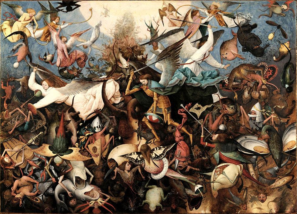 Pieter-Bruegel_Caduta-degli-angeli-ribel
