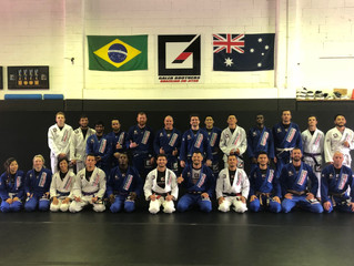 Competition training and grading day last Saturday!