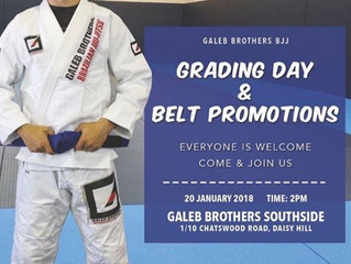 Grading day at Galeb Brothers Southside!