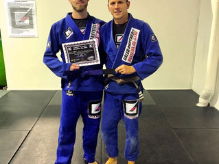 Fresh New Blue Belts