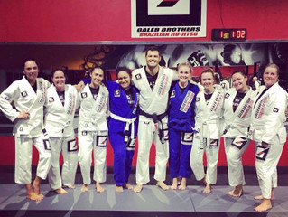 Womens only classes at Galeb Brothers BJJ!