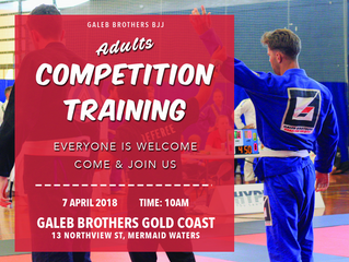 ADULTS COMPETITION TRAINING