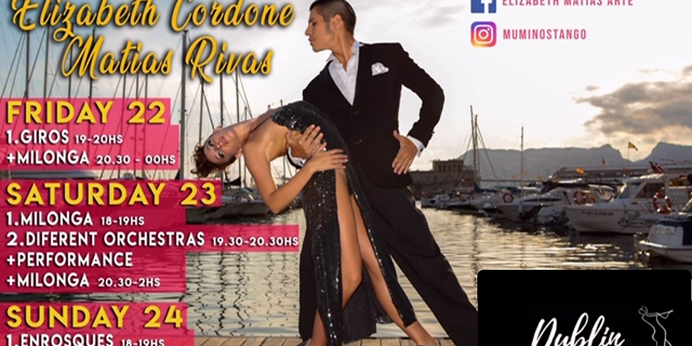 Tango Weekend with Elisabeth & Matias