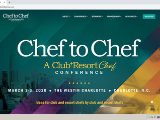 Chef to Chef Conference March 1 to the 3rd 2020