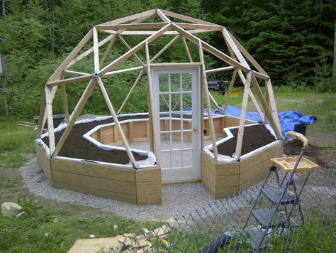 #GreenDome We are starting a new project-building agreenhouse, a kitchen garden, a natural working