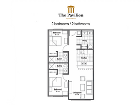 The Pavilion  2 bedrooms apartment floor plan.png