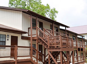 Arrowhead student apartments facing FSU