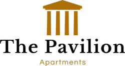 The Pavilion Apartments logo in Tallahassee